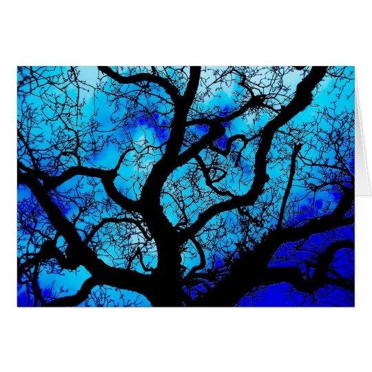 Haunting Tree Card