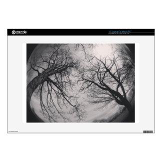 "Haunting Trees 15"" Laptop Decals"
