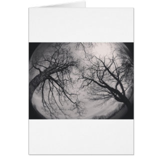 Haunting Trees Greeting Card