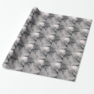 Haunting Trees Wrapping Paper