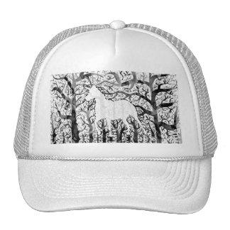 Haunting Unicorn Trucker Hat