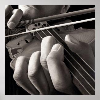 Haunting Violin Poster