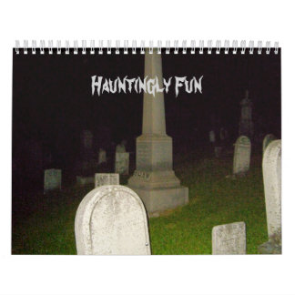 Hauntingly Diversión-Calendario-Cementerios Calendario De Pared