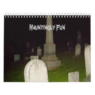 Hauntingly Fun-Calendar-Graveyards Calendar