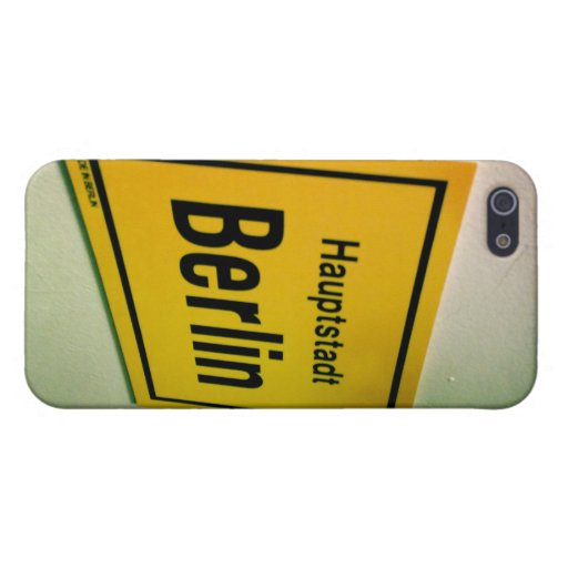 Haupstadt Berlín iPhone 5 Fundas