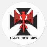 Haus Nürnberg Gott mit uns Sticker