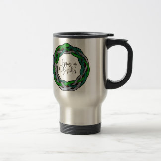 Haus of Ophidia Logo 15 Oz Stainless Steel Travel Mug
