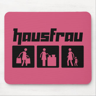 Hausfrau 2 mouse pad