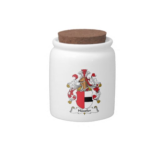 Hausler Family Crest Candy Dish