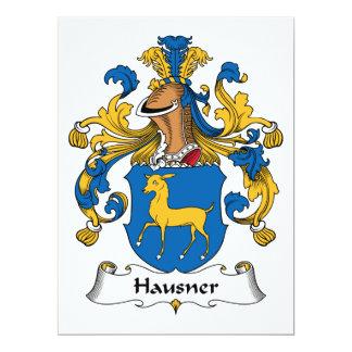 Hausner Family Crest Card