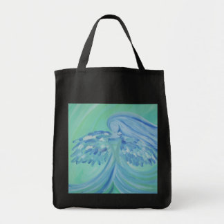Haust  frost tote bags