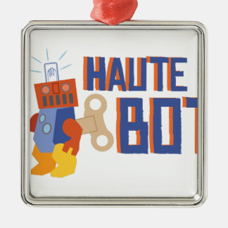 Haut Bot Metal Ornament
