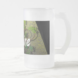 Haut Monde - Usine (Large Mug) Frosted Glass Beer Mug