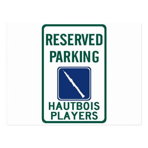 Hautbois Players Parking Postcard