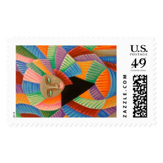Haute Couture 4 Postage Stamp