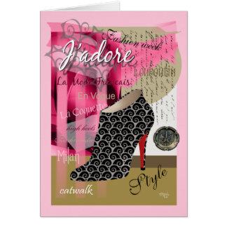 Haute Couture Card