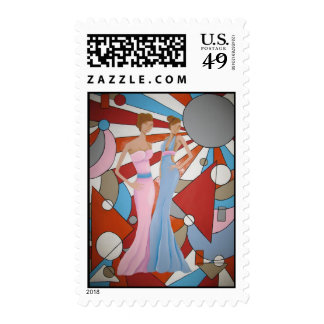 Haute Couture Postage Stamps