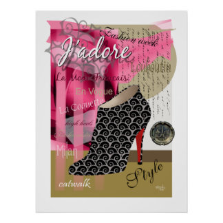 Haute Couture Poster Print