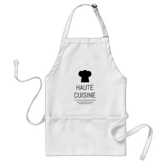 Haute Cuisine French Chef Cooking School Adult Apron