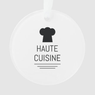 Haute Cuisine French Chef Cooking School Ornament