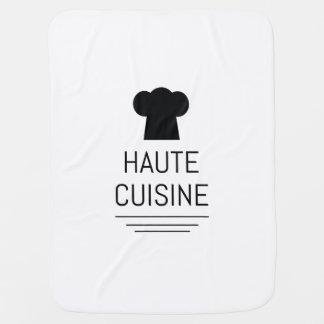 Haute Cuisine French Gourmet Baby Blanket