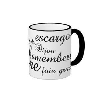 Haute Cuisine Ringer Coffee Mug