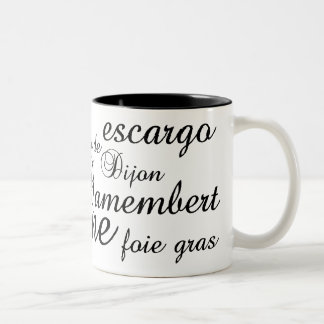 Haute Cuisine Two-Tone Coffee Mug