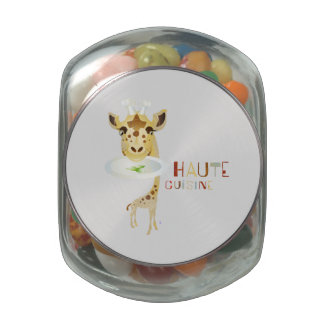 Haute Cuisine  – ZooDo Illustration Jelly Belly Candy Jar