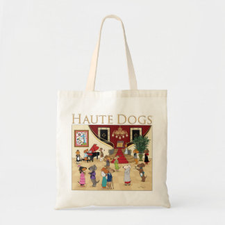 Haute Dogs Budget Tote Bag