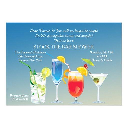 Haute Drinks Invitation Personalized Invitations