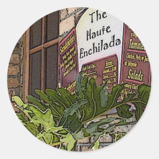 Haute Enchilada, Moss Landing Round Sticker