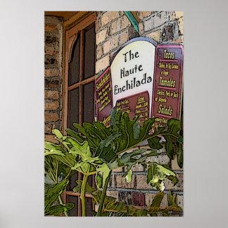 Haute Enchilada Poster