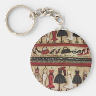 Haute Fashion Keychain