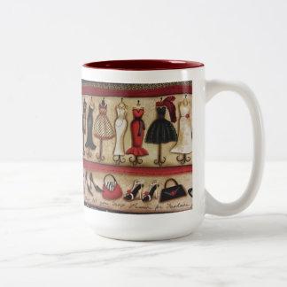 Haute Fashion Two-Tone Coffee Mug