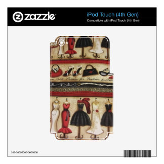 Haute Fashion Skin For iPod Touch 4G