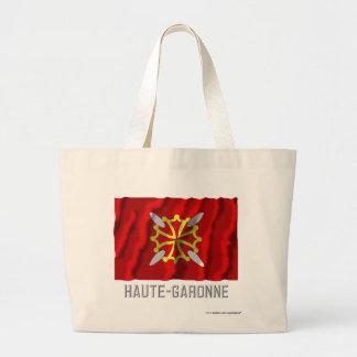 Haute-Garonne que agita la bandera con nombre Bolsa