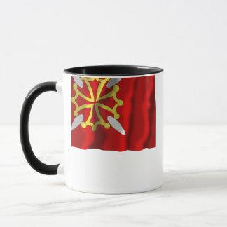 Haute-Garonne waving flag Mug