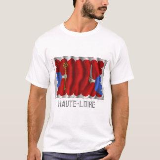 Haute-Loire waving flag with name T-Shirt