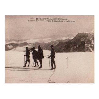 Haute Maurienne, esquí de las montañas de Saboya Postales