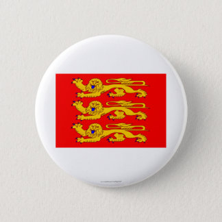 Haute-Normandie flag Pinback Button