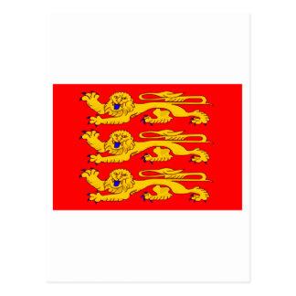 Haute-Normandie flag Postcard