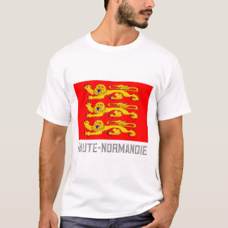 Haute-Normandie flag with name T-Shirt