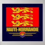 Haute-Normandie (Normandía superior) Poster