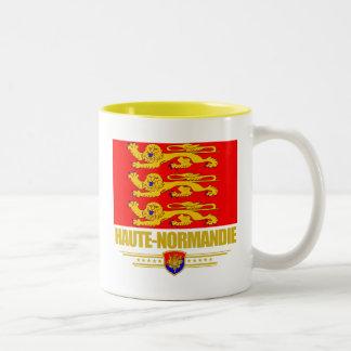 Haute-Normandie (Upper Normandy) Two-Tone Coffee Mug