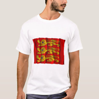 Haute-Normandie waving flag T-Shirt