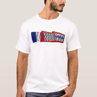 Haute-Vienne, Limousin & France flags T-Shirt