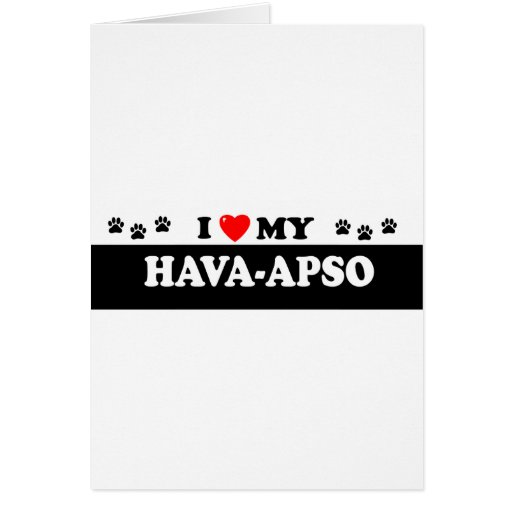 HAVA-APSO TARJETON