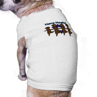 Hava Nagila Dachsunds Pet Sweater Doggie Tshirt