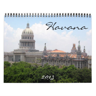 havana 2013 calendar