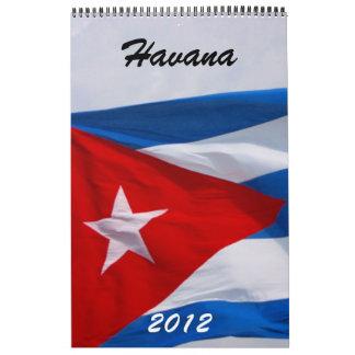 havana calendar 2012